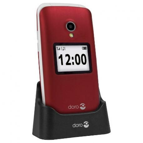 """Doro 2424 2.4"""" 92g Rojo Teléfono para personas mayores - Imagen 1"""