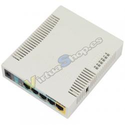 Mikrotik RB951Ui-2HnD Energía sobre Ethernet (PoE) Blanco punto de acceso WLAN - Imagen 1
