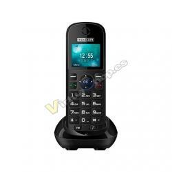 TELEFONO INALAMBRICO MAXCOM FIXED PHONE MM35D NEGRO - Imagen 1