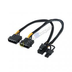CABLE ALIMENTACION 2XMOLEX H A PCI-E M AISENS - Imagen 1