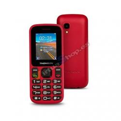 MOVIL SMARTPHONE THOMSON TLINK12 ROJO - Imagen 1