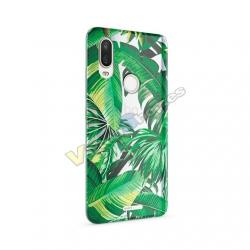 FUNDA MOVIL BQ AQUARIS X2/X2 PRO BUBBLE PALM TREE - Imagen 1