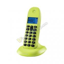 TELEF. INALAMBRICO DECT DIGITAL MOTOROLA C1001LB+ VERDE - Imagen 1