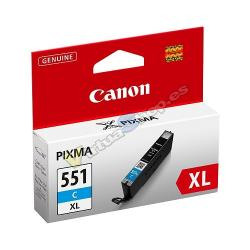 TINTA CANON CLI 551 XL CIAN MG6350 MG5450 - Imagen 1