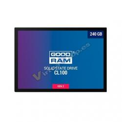 DISCO DURO 2.5 SSD 240GB SATA3 GOODRAM CL100 GEN.2 - Imagen 1