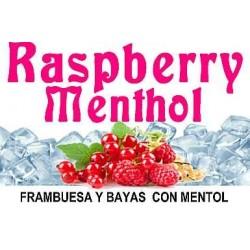 RASPBERRY MENTHOL 10ml.