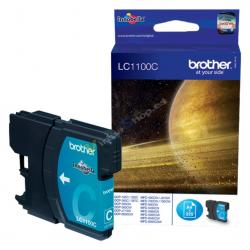 TINTA BROTHER LC1100C CIAN DCP385C MFC6490CW 5490CN 325PAG - Imagen 1