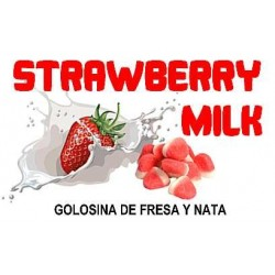 STRAWBERRY MILK 10ml.
