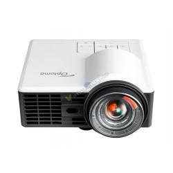 PICO PROYECTOR LED OPTOMA ML1050ST+ WXGA 1000L BLANCO HDMI MHL micSD LENTE CORT - Imagen 1