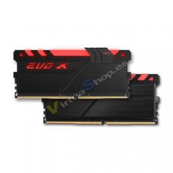 MODULO MEMORIA RAM DDR4 4GB PC2400 GEIL EVO X BLACK - Imagen 1