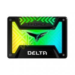 DISCO DURO 2.5 SSD 250GB SATA3 TEAMGROUP TFORCE DELTA RGB - Imagen 1