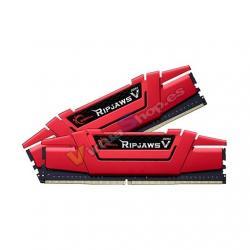 MODULO MEMORIA RAM DDR4 2x16GB PC3200 G.SKILL RIPJAWS V ROJ - Imagen 1