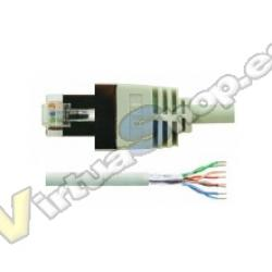 CABLE RED RJ45 0.5M LATIGUILLO FTP CAT5E LOGILINK - Imagen 1