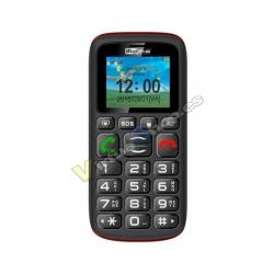 MOVIL SMARTPHONE MAXCOM COMFORT MM428 NEGRO/ROJO - Imagen 1