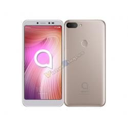 "SMARTPHONE ALCATEL 1S 5.5"" HD+ 4G 16+8MP OC DUAL SIM 32 GB 3 GB METALIC GOLD - Imagen 1"
