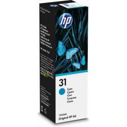 BOTELLA TINTA HP 31 CIAN 70ML - Imagen 1