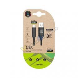 CABLE USB(A) A MICRO USB(B) TECH ONE TECH 1M - Imagen 1