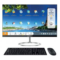 "PC AIO ORDISSIMO CLARA INTEL ATOM E8000 4GB 500GB+32GB 23,8"" FHD WIFI - Imagen 1"