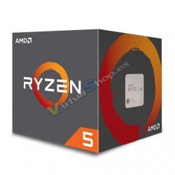 PROCESADOR AMD AM4 RYZEN 5 2600 6X3.4GHZ/19MB BOX - Imagen 1
