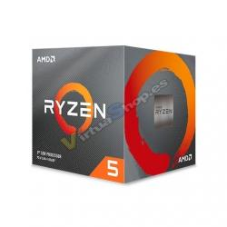 PROCESADOR AMD AM4 RYZEN 5 3600X 6X4.4GHZ/36MB BOX - Imagen 1