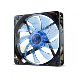 VENTILADOR 120X120 NOX HFAN 120 LED AZUL - Imagen 1