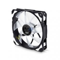 VENTILADOR 120X120 NOX HFAN 120 LED BLANCO - Imagen 1