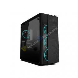 TORRE ATX RAMPAGE CARBON RGB BLACK - Imagen 1