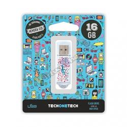 PENDRIVE 16GB TECH ONE TECH MUSIC DREAM - Imagen 1