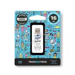 PENDRIVE 16GB TECH ONE TECH WINTER IS COMING - Imagen 1