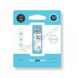 PENDRIVE 32GB TECH ONE TECH WHITE - Imagen 1