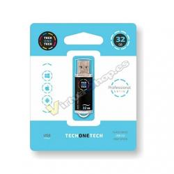 PENDRIVE 32GB TECH ONE TECH BLACK - Imagen 1