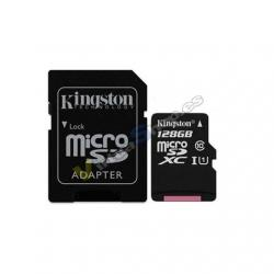 MEM MICRO SDXC 128GB KINGSTON CANVAS SELECT+ADAPT - Imagen 1