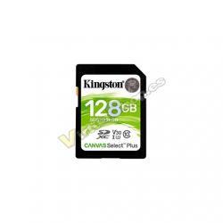 MEM SDXC 128GB KINGSTON CANVAS SELECT PLUS - Imagen 1