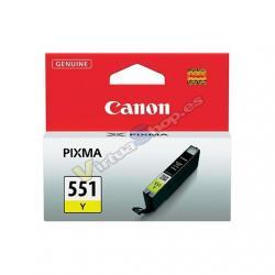 CARTUCHO ORIG CANON CLI-551Y AMARILLO - Imagen 1