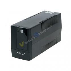 SAI/UPS 800VA PHASAK INTERACT BASIC AVR 2SCHUKO PH9408 - Imagen 1
