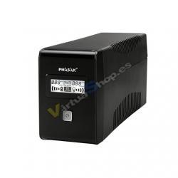 SAI/UPS 850VA PHASAK INTERACTIVO AVR 2XSCHUKO PH 9485 - Imagen 1