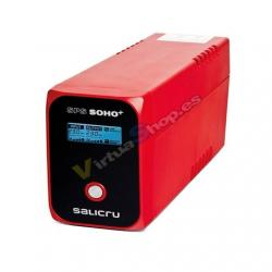 SAI/UPS 1200VA SALICRU SPS 1200 SOHO+ 3XSCHUKO INTERAC - Imagen 1