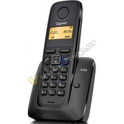 TELEF. INALAMBRICO DECT DIGITAL GIGASET A120 NEGRO
