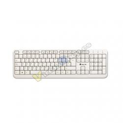 TECLADO NGS WIRED SPIKE BLANCO - Imagen 1