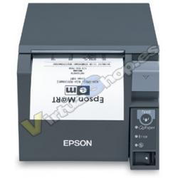 TPV IMPRESORA TICKETS EPSON TM-T70II USB BLANCO - Imagen 1