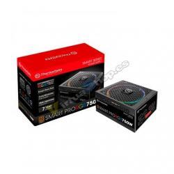 FUENTE ATX 750W THERMALTAKE SMART PRO RGB NEGRO 80+ BRONCE/ - Imagen 1