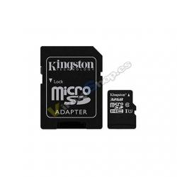 MEM MICRO SDHC 32GB KINGSTON CANVAS SELECT+ADAPT - Imagen 1