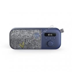 RADIO FM ENERGY SISTEM FABRIC BOX NAVY - Imagen 1