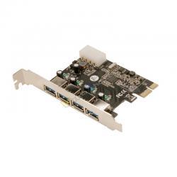 CONTROLADORA MINI-PCIE 4XUSB3.0 PCI-E LOGILINK - Imagen 1