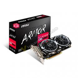 TARJETA GRÁFICA MSI RX570 ARMOR OC 4GB GDDR5 - Imagen 1