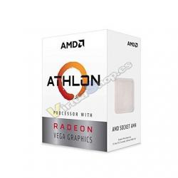 PROCESADOR AMD AM4 ATHLON 3000G 2X3.5GHZ/4MB BOX - Imagen 1