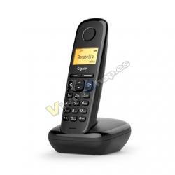 TELEF INALAMBRICO DECT DIGITAL GIGASET A270 NEGRO - Imagen 1