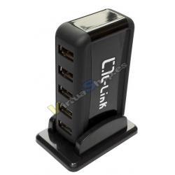 HUB 7 PUERTOS USB 2.0 L-LINK LL-UH-707L - Imagen 1