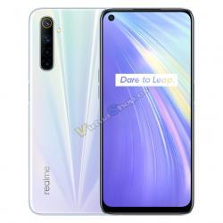 SMARTPHONE REALME 6 4GB 128GB DS COMET WHITE - Imagen 1