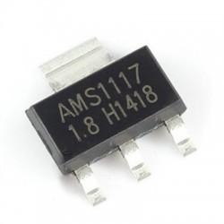 PS4 REGULADOR VOLTAJE AMS1117 1,8V. 1A. SOP 223